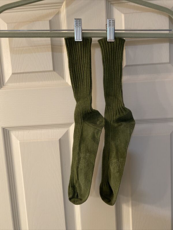 1 Pair Older Style Boy Scout BSA Ankle High Uniform Socks Size 11 To 14