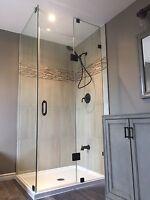 Frameless Glass Showers and Doors