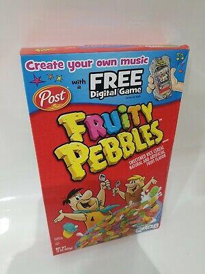 Fruity Pebbles Post Cereal NEW Sealed NIB (Exp October 2020) Flintstones 15oz