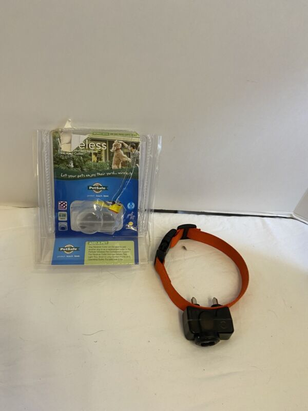 PetSafe Collar for Wireless Fence Receiver Orange Color Pet Containment