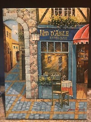 20th Century M. Chapot French art SIGNED  UnFramed -