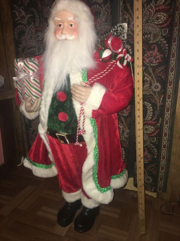 3 Ft Santa Decor