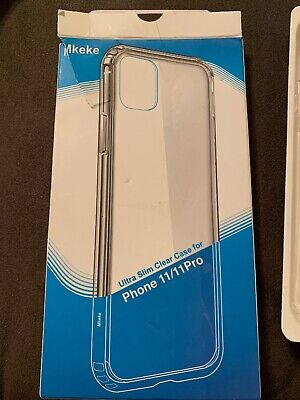 Mkeke Ultra Slim Clear Case For Iphone 11/11 Pro