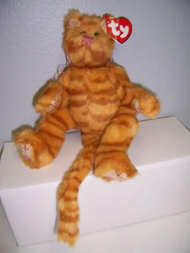 "TY Attic Treasures BASIL the orange cat 9""...NEW"