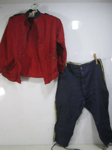 Vintage Childs Military Style Costume or Dress Up Outfit size 10