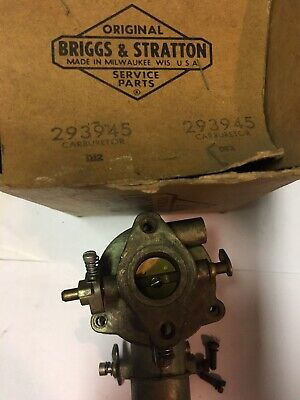 Vintage Briggs And Stratton 293945 Carburetor Nos Oem