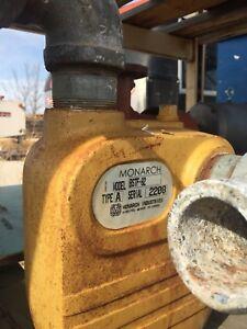 Belt drive high capacity water pump