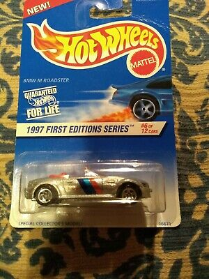 BMW M ROADSTER HOT WHEELS 1997 First Edition Series Vintage