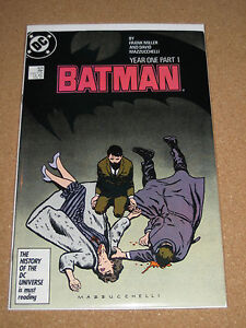 Batman Year One Lot 404 405 406!! High Grade Copies!! Miller Classic!!