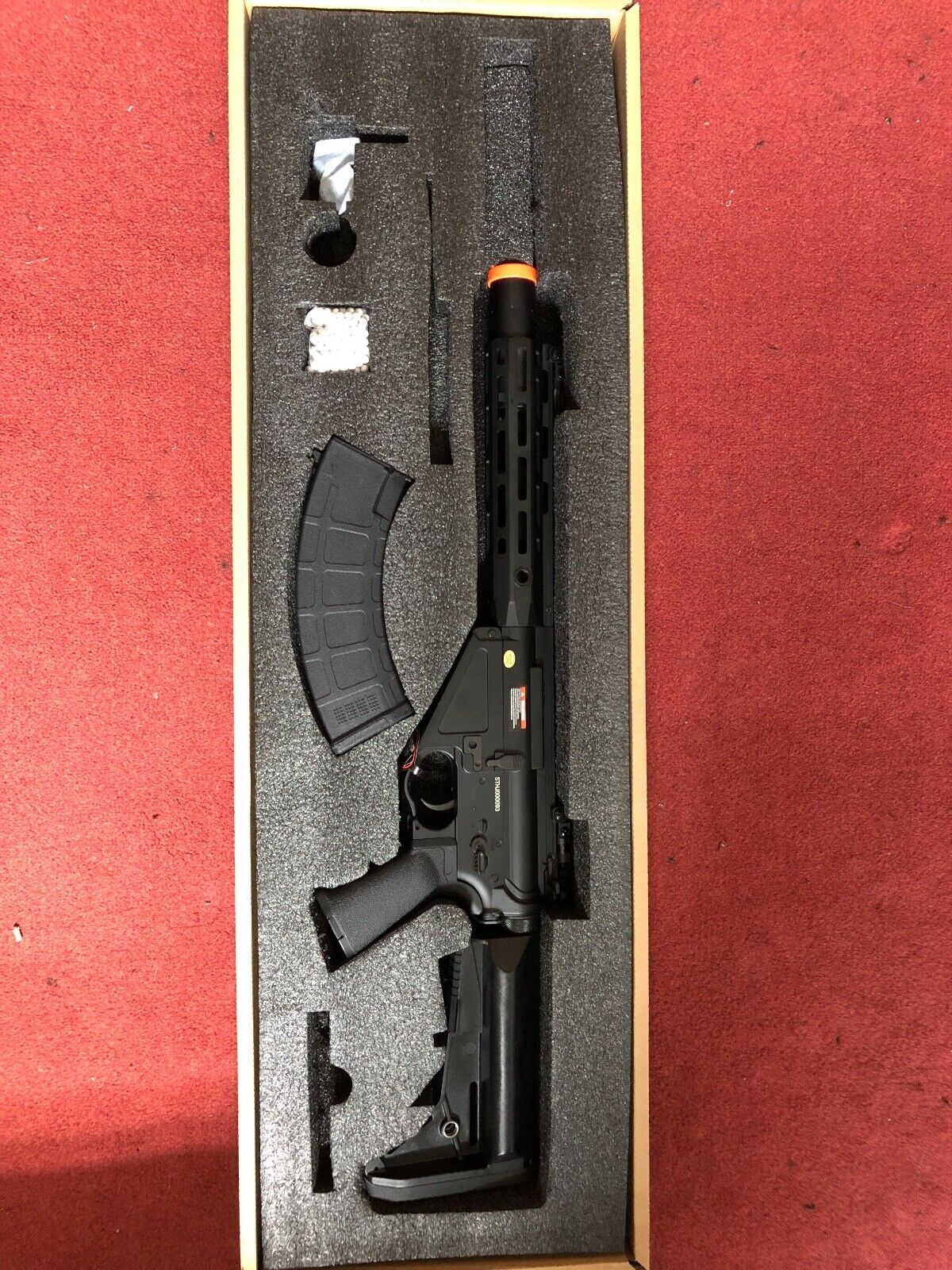CYMA Platinum AR-47 QBS, Brand New Electric Airsoft Rifle