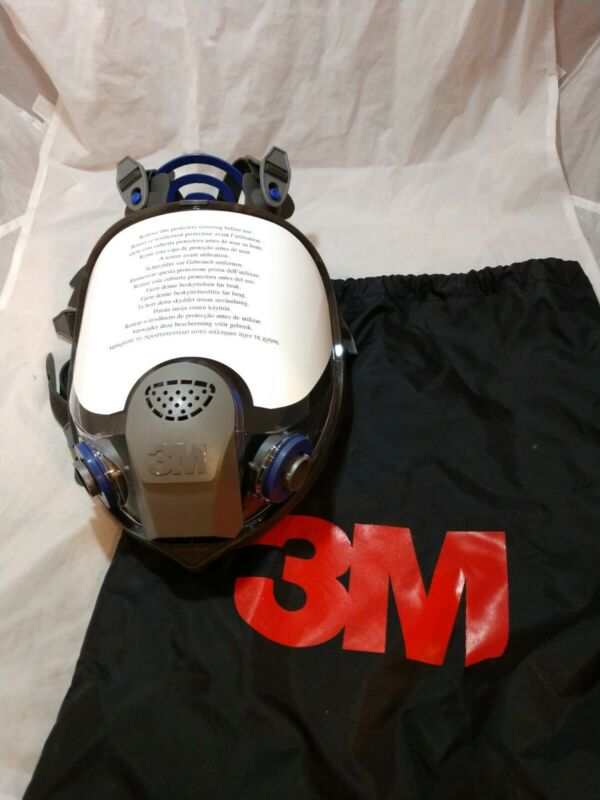3M FF-402 Ultimate FX Full Face Reuseable Respirator size M No filters included