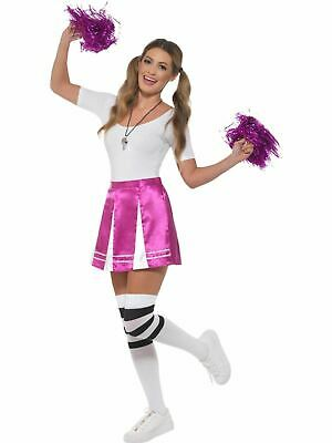 Cheerleader Womens Costume Ladies Fancy dress School Football Outfit party hen ()