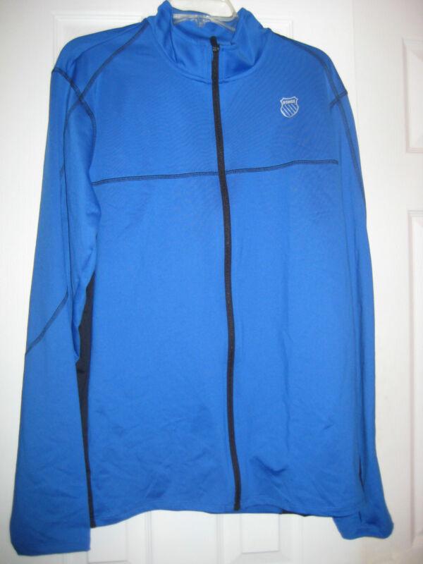 K-Swiss Mens Stitched Full Zip Jacket - 100896-478