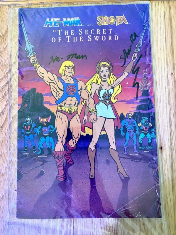 He-Man and She-Ra Comic Book - The Secret of the Sword - In original package