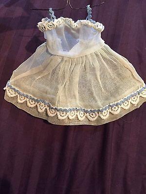 VINTAGE VOGUE Ginny GINNETTE DOLL Dress Organdy