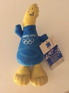 Phevos-Olimpiadi-Athene-2004-pupazzo-peluches-mascotte-sport-gadget-original