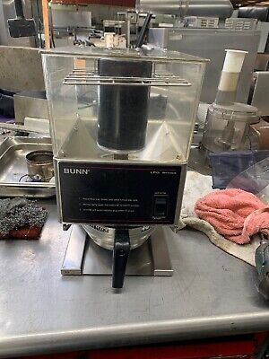 Bunn Commercial Coffee Grinder Lpg