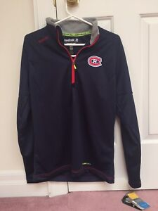 Reebok montreal canadiens zip jacket bnwt
