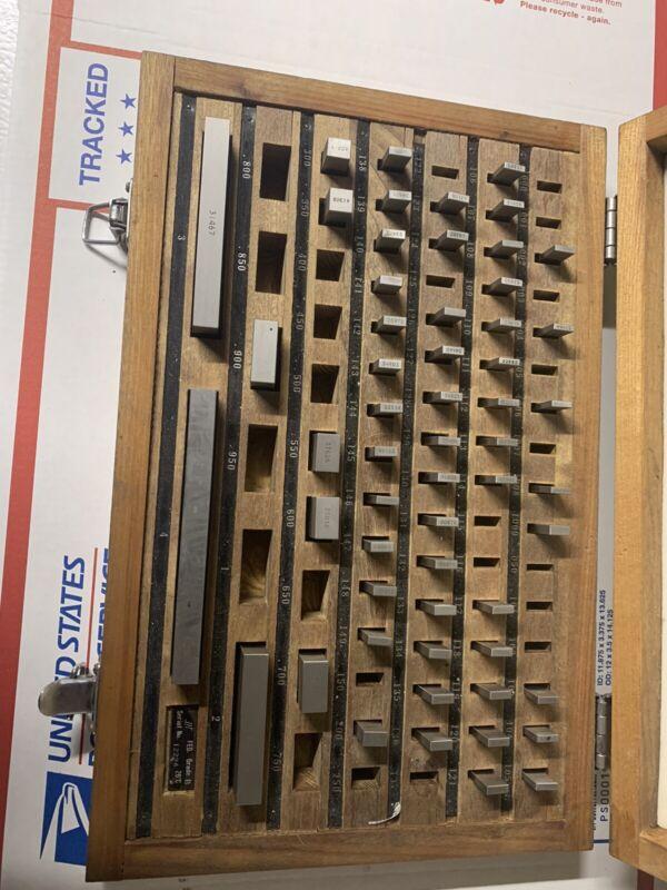 JIT  81 Piece Precision Gage Block InComplete Set Grade B