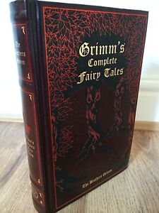 THE-BROTHERS-GRIMM-GRIMMS-COMPLETE-FAIRY-TALES-LEATHER-BOUND-BOOK-EDITION
