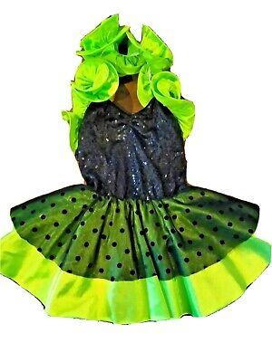 Tinker Bell Classic Delux Halloween costume Disney Fairie, Deluxe Medium 5-6