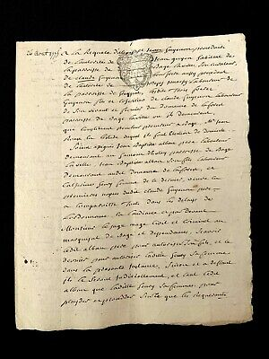 1775 PAPER MANUSCRIPT
