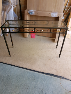 NEW INDUSTRIAL STYLE HALLWAY CONSOLE