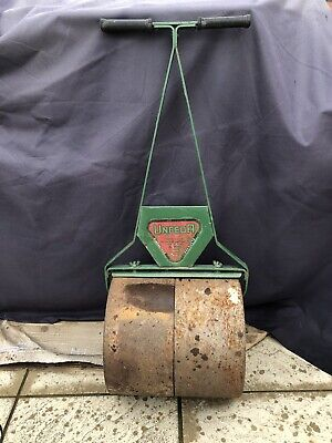 Vintage Antique Cast Iron Garden / Lawn Roller