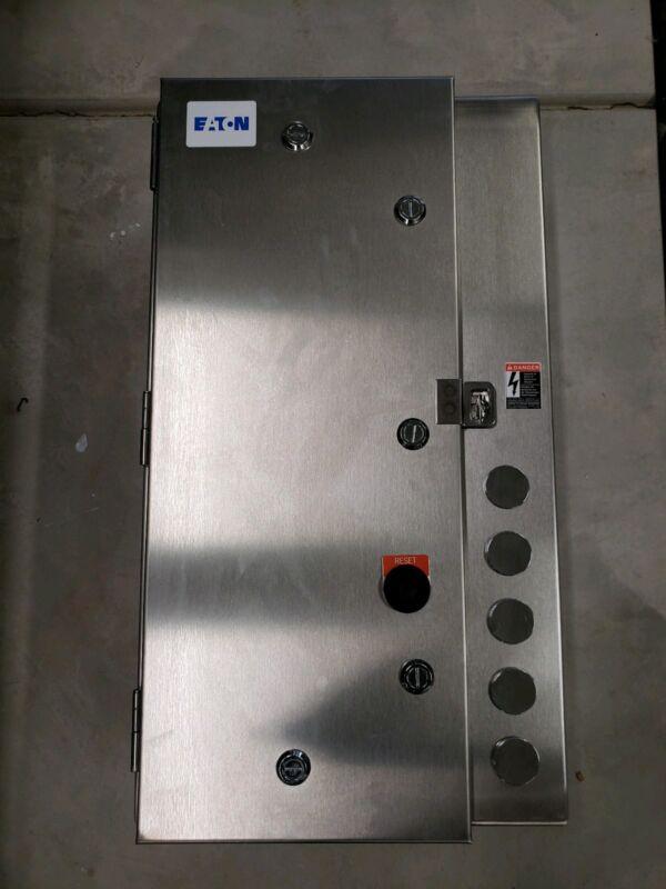 NEW / IN STOCK! NEMA Magnetic Motor Starter EATON ECN0544EAA-R63/F -  STAINLESS