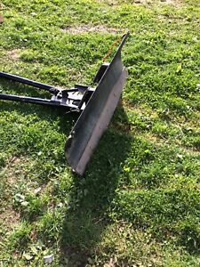 Atv plow and mount
