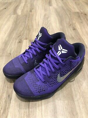Nike Kobe 9 IX Elite Low Hyper Grape MoonWalker 639045-515 Size 10.5
