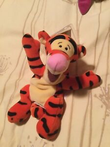 """Brand New Disney MBBP """"New"""" Tigger.  The 1 w/ bee on right foot"""