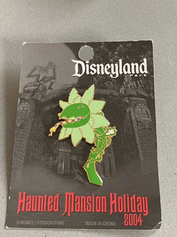 Disney Haunted Mansion Holiday NBC NBX 2004 DLR Oogie Boogie Plant Pin LE 1000