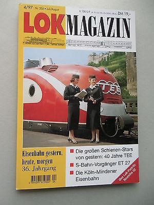 LOK Magazin Eisenbahn gestern heute morgen 4/97 Nr. 205 Juli / Aug.