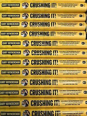CRUSHING IT Gary Vaynerchuk (2018) Great Entrepreneurs Build Businesses GaryVee
