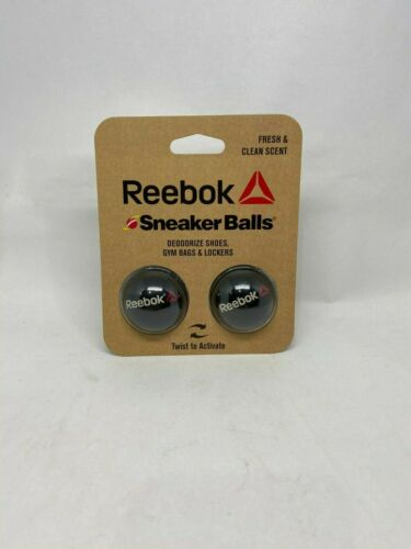 Reebok Sneaker Balls (2 Pack) Deoderizer for Shoes, Gym Bags and Lockers