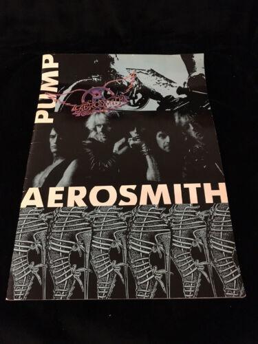 AEROSMITH PUMP CONCERT PROGRAM BOOK