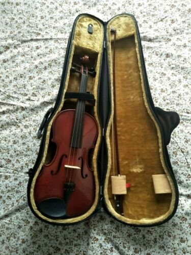VIOLA STENTOR STUDENT 11  BOW AND CASE EX COND stentor2