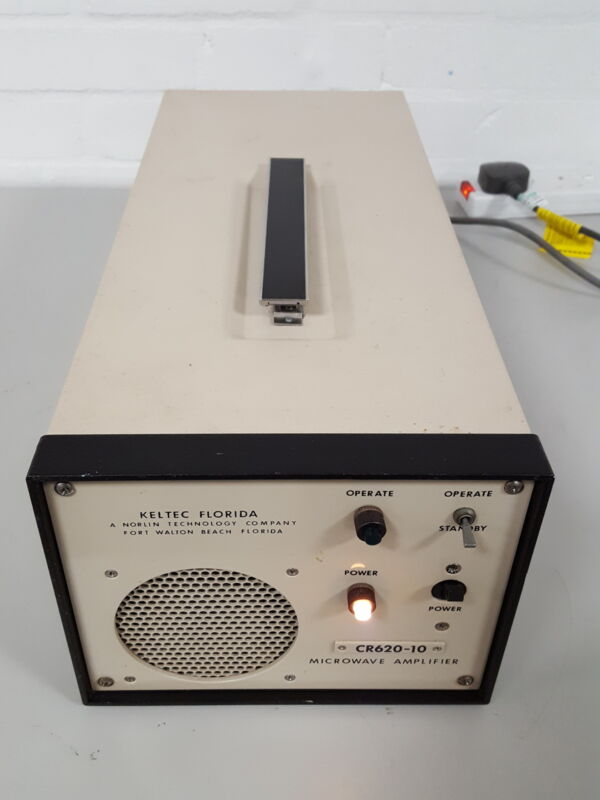 The Keltec CR620-10 Microwave TWT Amplifier Travelling Wave Tube Waveguide Lab