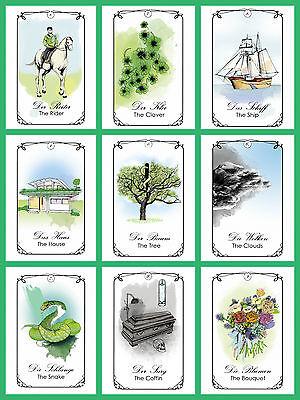 Pure Lenormand neu new Tarot Orakelkarten Oracle Cards Kartendeck