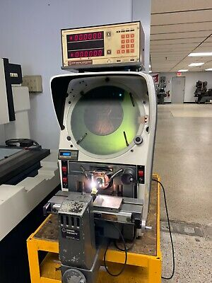 Gagemaster 29 Bench Top Optical Comparator With Dro 10x Lens Surface