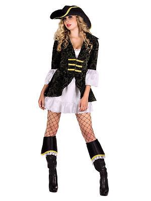 Kostüm für Erwachsene Piratenbraut Atlantic Elite Party Kostüm