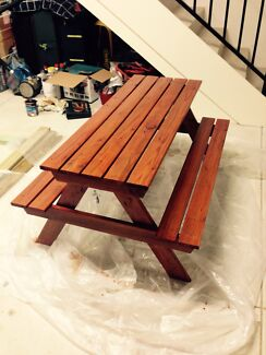 New hand made wooden picnic table Joondalup Joondalup Area Preview