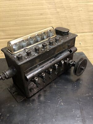Antique Madison Kipp Model 50 6 Port Lubricator Hit Miss Steam Tractor Engine