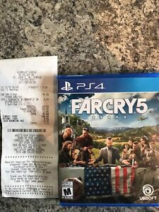 Far cry 5. Mint condition!