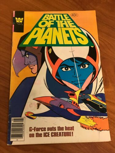 Battle of the Planets #2 Whitman Comics 1979 VG