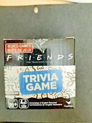 BRAND NEW Friends TV show Trivia Card Game , Christmas Stocking -