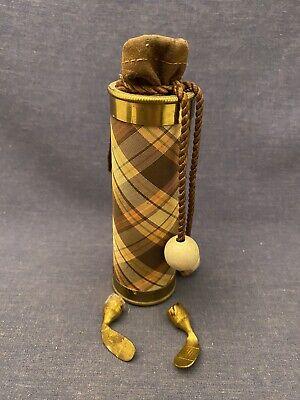 1930s Handbags and Purses Fashion RARE 1930s Karoff Par-Fume Perfume FOR PARTS Bottle Golf Clubs Bag Vintage $23.00 AT vintagedancer.com