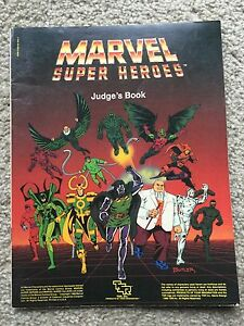 Marvel Super Heroes: Judge's Book