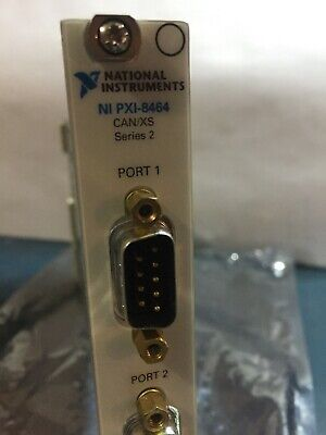 National Instruments Pxi8464 Series 2 2 Port Pxican Xs Interface